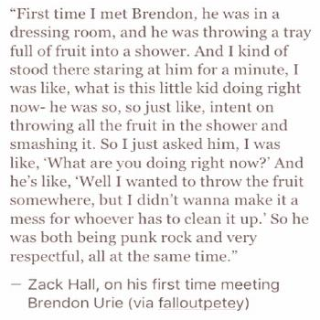 19 Times Brendon Urie Was Too Pure For This World