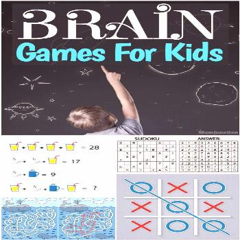20 Innovative Brain games for kids : Develop the mental ability of your child with some best brain