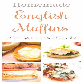 Homemade English Muffins Recipe and 6 Easy Meal Ideas - All the nooks and crannies you love without