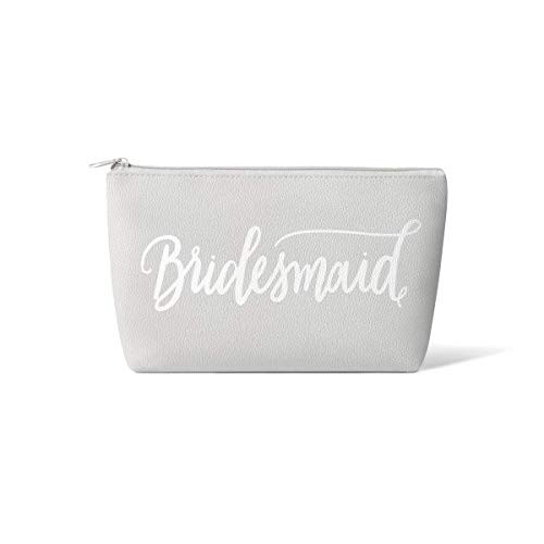 Bridal Party + Bride Makeup Bags – Leather Cosmetic Bags