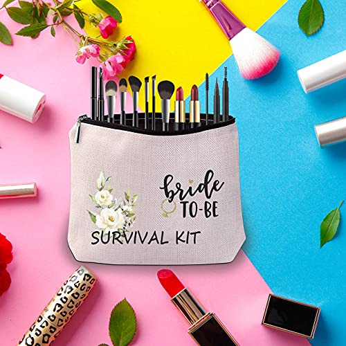 Bride to Be Gift Bride to Be Survival Kit Cosmetic Bag